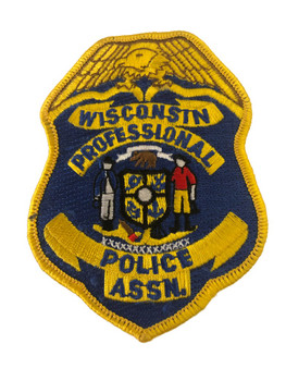 Wisconsin Professional ASSOCIATION POLICE PATCH