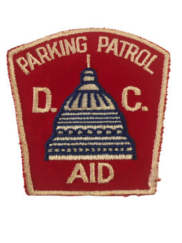 D.C. PARKING PATROL POLICE PATCH