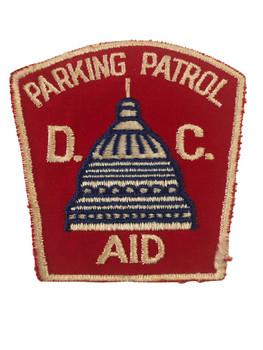 D.C. PARKING PATROL POLICE PATCH