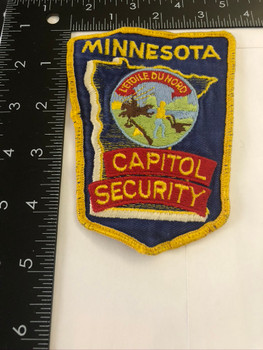 MINNESOTA MN CAPITOL SECURITY POLICE PATCH