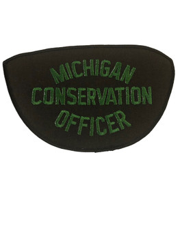 MICHIGAN CONSERVATION OFFICE POLICE PATCH