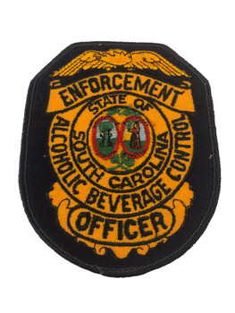 SOUTH CAROLINA SC ALCOHOLIC OFFICE POLICE PATCH