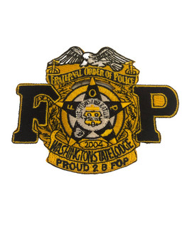 WASHINGTON FOP LODGE POLICE PATCH