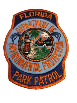 FLORIDA PARK PATROL POLICE PATCH RARE
