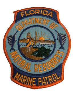 FLORIDA MARINE PATROL POLICE PATCH RARE
