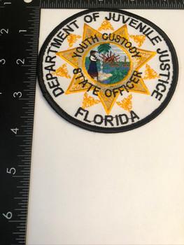 FLORIDA DEPARTMENT OF JUVENILE JUSTICE PATCH RARE