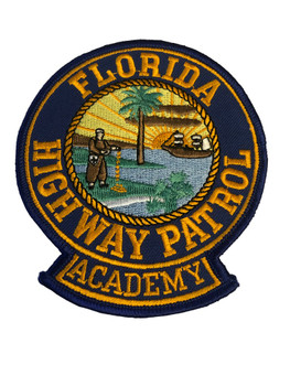 FLORIDA HIGHWAY PATROL ACADENY PATCH