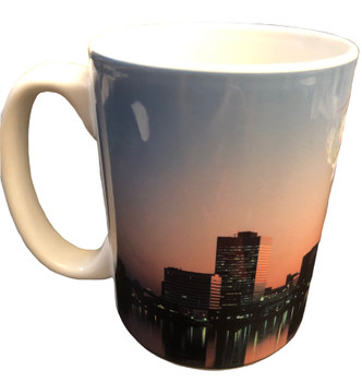 FBI JAX SUPER BOWL XXIX COFFEE MUG