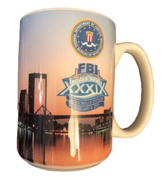 FBI JAX SUPER BOWL XXIX COFFEE MUG