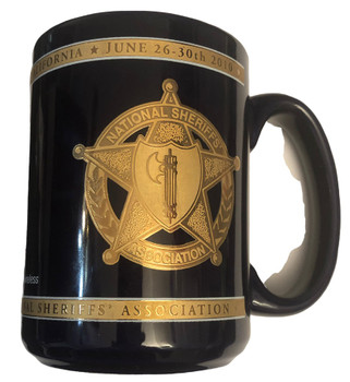 NATIONAL SHERIFFS ASSN. PRESIDENT COFFEE MUG