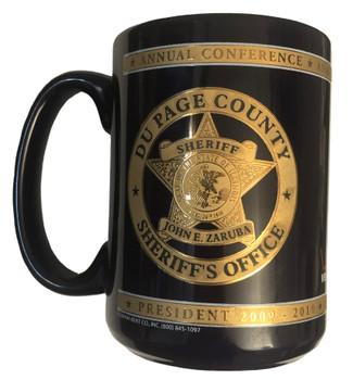 NATIONAL SHERIFFS ASSN. PRESIDENT COFFEE MUG