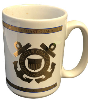 U.S. COAST GUARD COFFEE MUG USA MADE
