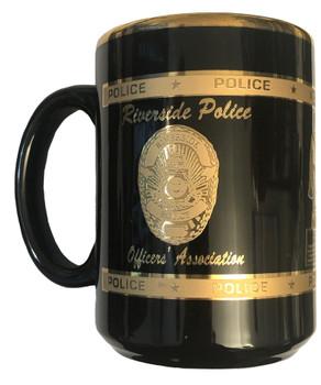 RIVERSIDE CA POLICE OFFICERS ASSN. COFFEE MUG
