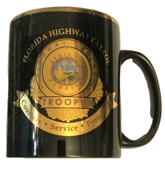 FLORIDA HIGHWAY PATROL FHP FL POLICE COFFEE MUG
