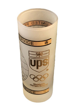 UPS OLYMPIC SHOT GLASS RARE