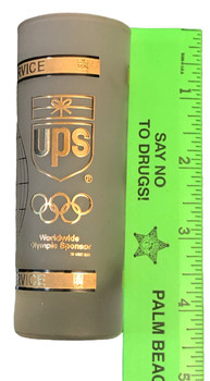 UPS OLYMPIC SHOT GLASS RARE