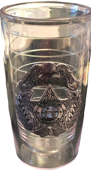 VOLUSIA CTY SHERIFF FL TERVIS MUG SILVER STAR