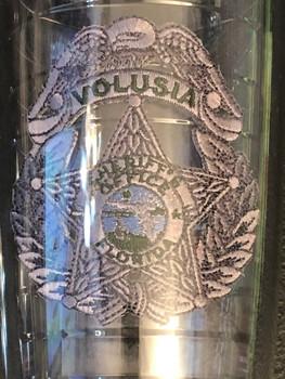 VOLUSIA CTY SHERIFF FL TERVIS MUG SILVER STAR