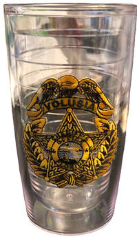 VOLUSIA CTY SHERIFF FL TERVIS MUG GOLD STAR