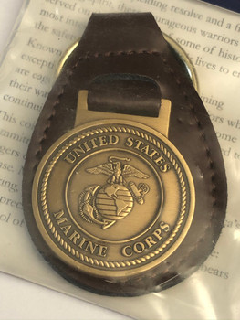 U.S. MARINE CORPS KEY TAG FOB OFFICIAL PRODUCT