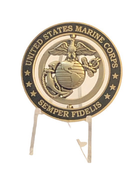 OFFICIAL U.S. MARINE CORPS SPINNER COIN