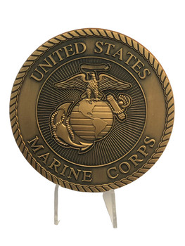HUGE OFFICIAL U.S. MARINE CORPS EMBLEM