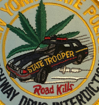 NEW YORK STATE POLICE NY HIGHWAY DRUG INTERDICTION  PATCH FREE SHIPPING!