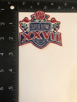 SUPERBOWL XXVII PATCH FREE SHIPPING!
