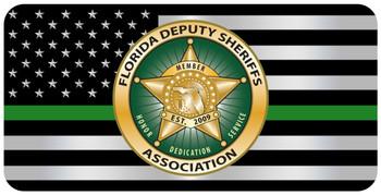 FDSA Thin Line License Plate