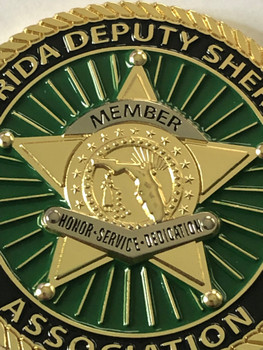 FLORIDA DEPUTY SHERIFFS ASSOCIATION COIN