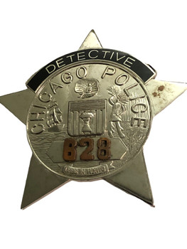 CHICAGO POLICE DETECTIVE STAR BADGE