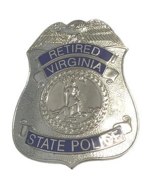 RETIRED VIRGINIA STATE POLICE BADGE
