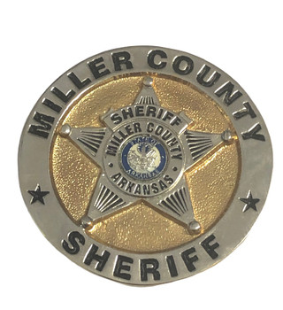 MILLER CTY ARKANSAS SHERIFF STAR BADGE