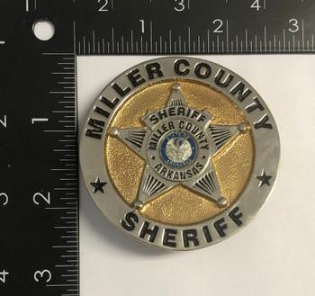 MILLER CTY ARKANSAS SHERIFF STAR BADGE