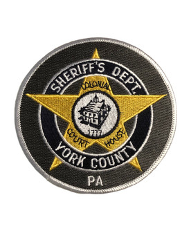YORK CTY SHERIFF PA POLICE PATCH