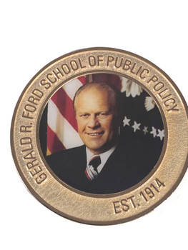 UNIV. OF MICHIGAN PRESIDENT GERALD FORD COIN