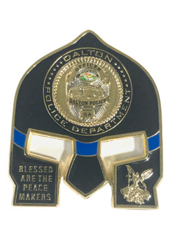 DALTON GEORGIA POLICE WARRIOR COIN