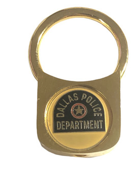 DALLAS TX POLICE TWIST KEY TAG