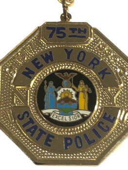 NEW YORK STATE POLICE   KEY TAG FREE SHIPPING!