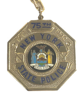 NEW YORK STATE POLICE  KEY TAG
