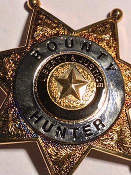 BOUNTY HUNTER STAR BADGE