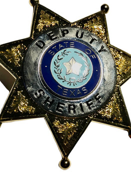 TEXAS DEPUTY SHERIFF STAR BADGE