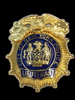 NYPD LIEUTENANT BADGE NO PIN