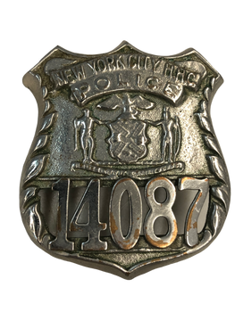 NY CITY HHC BADGE