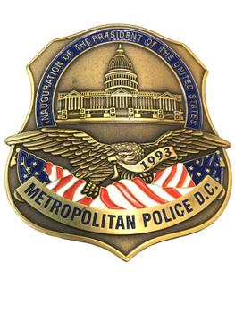 METRO POLICE DC 1993 PRESIDENTIAL BADGE