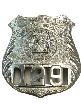 NYC DEPT OF HOSP POLICE BADGE
