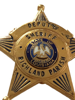 RICHLAND PARISH LOUISIANA DEPUTY STAR BADGE