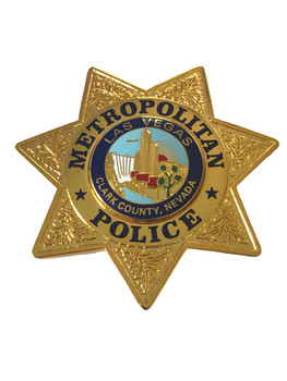 METRO LAS VEGAS NV BADGE