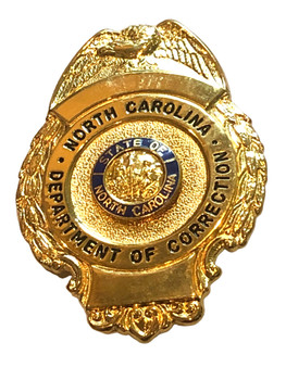 NORTH CAROLINA DEPT. OF CORRECTIONS BADGE