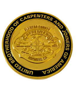 ALAMEDA CTY CA CARPENTERS UNION COIN